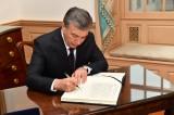 Uzbek President Mirziyoyev: When a person changes, society changes
