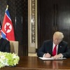 Trump holds out hope for deal with North Korea