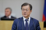 S. Korea: Moon notes need for extra budget to battle fine dust, natural disasters