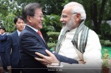 Moon congratulates Indian Prime Minister Modi on latest election victory
