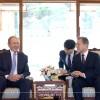 Bush in S. Korea for former President Roh's death anniversary