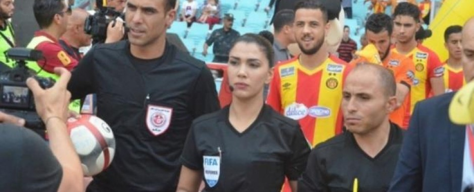 Dorsaf makes history as first Arab woman referee in top division