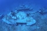 Jordan sinks military vehicles in Aqaba for underwater museum