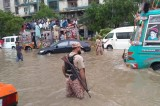 At least 12 people die as more monsoon rains hit Pakistan