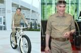 Turkmenistan's TV shows Berdimuhamedov on holidays