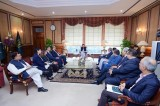 IMF officials, Pakistan PM discus bailout package