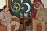 Saudi military adviser calls on Pakistan Army Chief