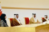 Bahrain calls for firm international action to face challenges, threats to stability