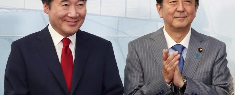 South Korean prime minister to meet Abe on Thursday during trip to Japan