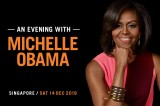Michelle Obama to share experiences in Singapore