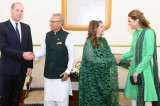 Royal visit: Prince William, Kate Middleton meet Pakistan President, PM