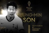 South Korean football star nominated for 2019 Ballon d'Or