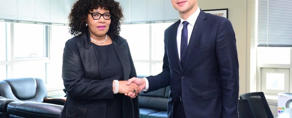 Nelson Mandela's daughter begins role as South Africa's ambassador to South Korea