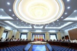 Kyrgyzstan president highlights priorities in meeting with media