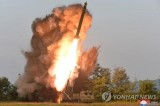 North Korea fires two short-range projectiles toward East