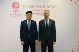 Senior diplomats of S. Korea, U.S. hold talks in Bangkok