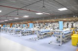 Bahrain converts parking into 130-bed COVID-19 intensive care unit in seven days