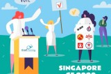 Mid-point of Singapore general election throws up a '10 million hot potato'