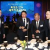 Four of Korea's major conglomerate heads exchange consolations, blessings, share thoughts at special dinner