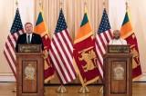 Pompeo tells Sri Lanka United States seeks to strengthen partnership