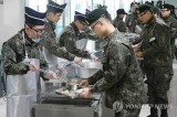 Salmon, hamburgers on menu for South Korea's military