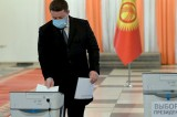 Kyrgyz voters cast ballots in presidential elections and referendum