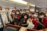 Afghan baby girl born at 10,000 meters in Turkish evacuation flight