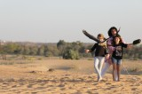 Women breaking stereotypes with falconry