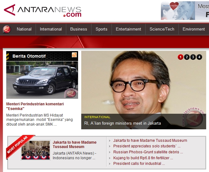 RI, A`lian foreign ministers meet in Jakarta