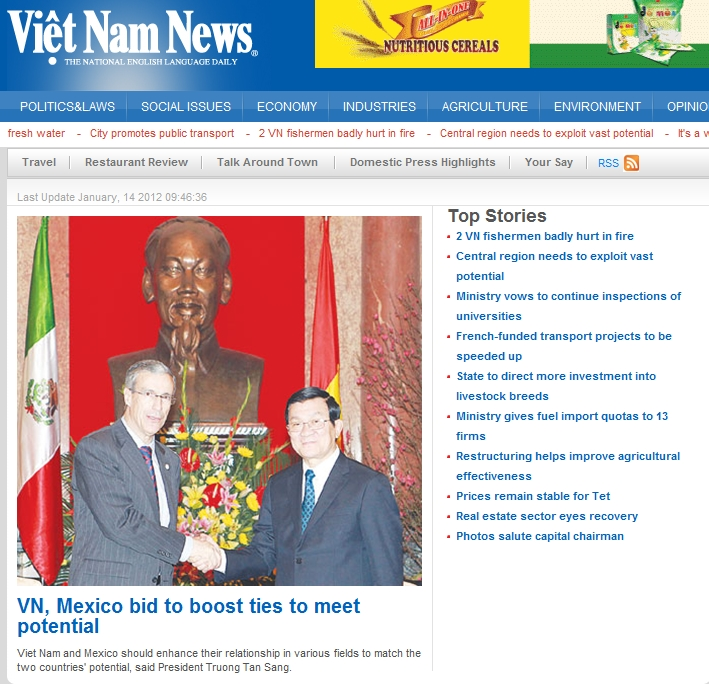 VN, Mexico bid to boost ties to meet potential