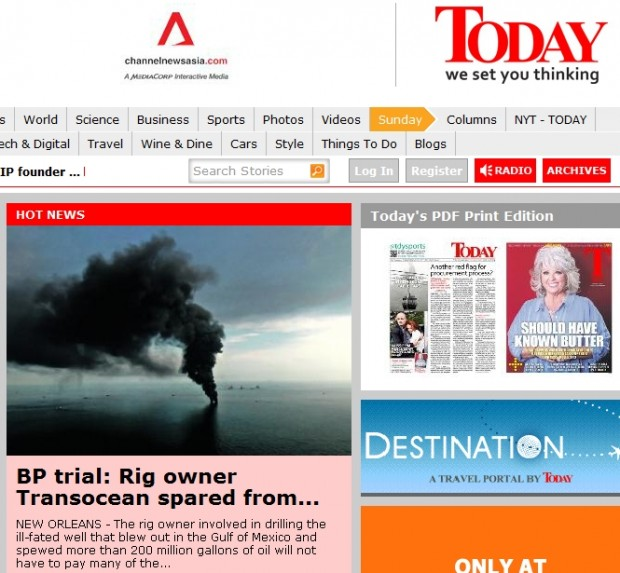 BP trial: Rig owner Transocean spared from pollution claims