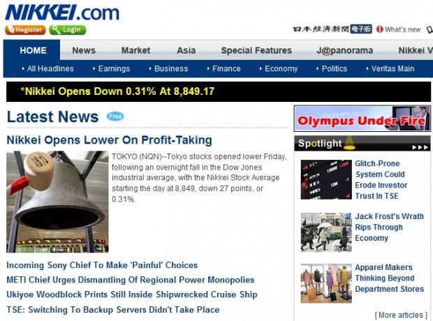 Nikkei Opens Lower On Profit-Taking