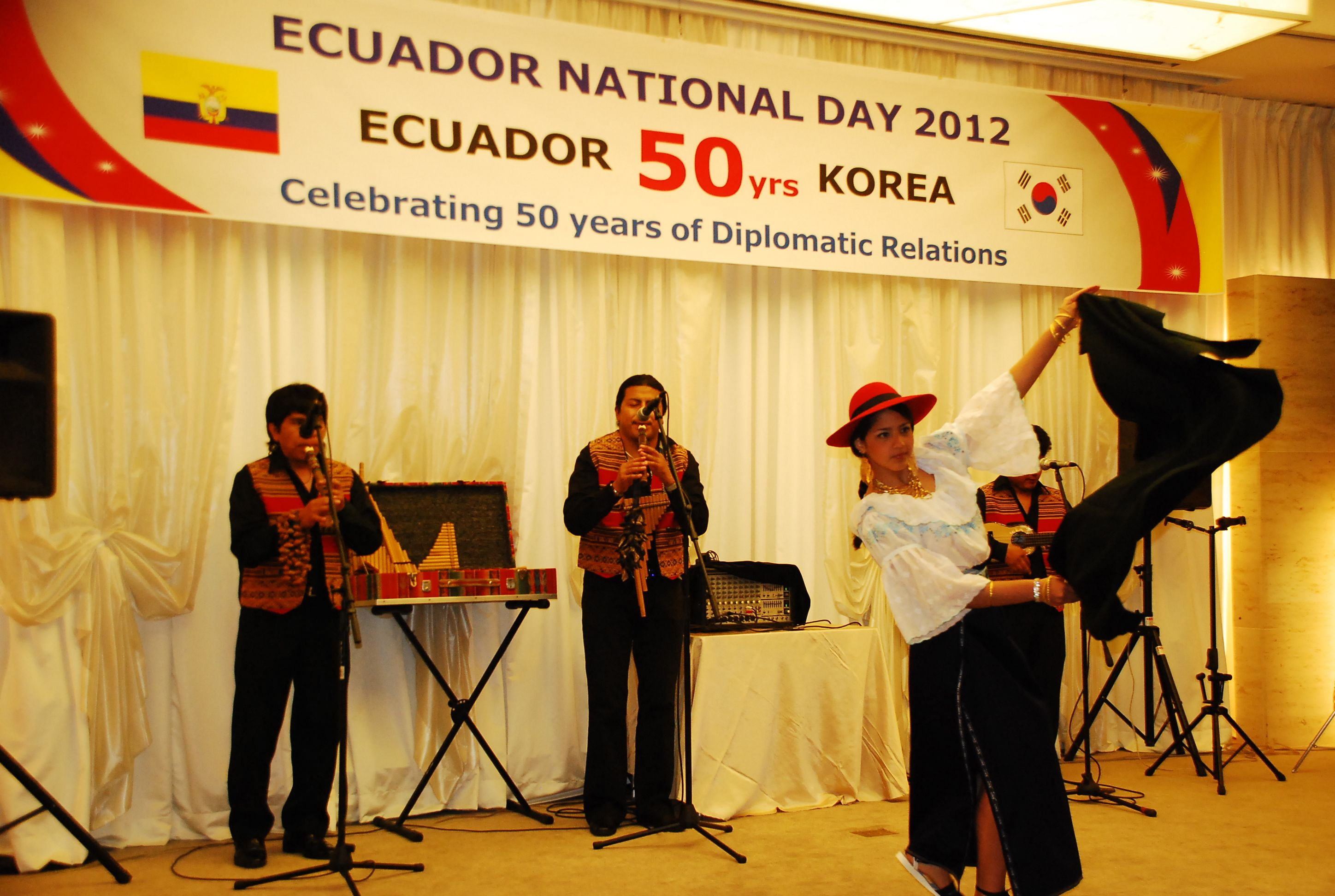Independence Day of Ecuador Celebrated