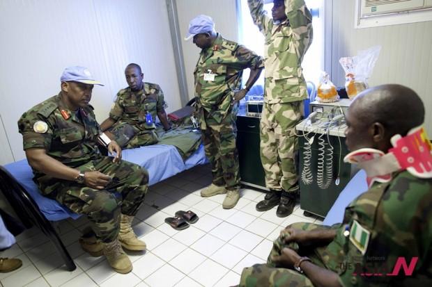 Mideast Sudan Peacekeepers Killed