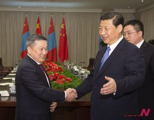 Chinese President Xi meets Mongolian Chairman of State Great Hural