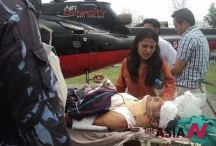 Eight injured when plane flies down to river in west Nepal