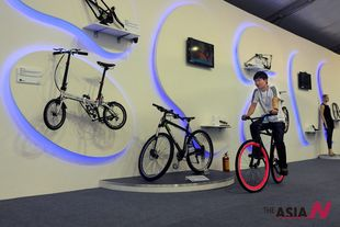 The 23rd China Int'l Bicycle and Motor Fair held in Shanghai