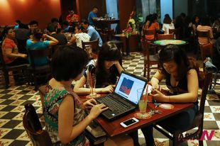 A third of Vietnam&#8217;s 90 million people use ubiquitous online services