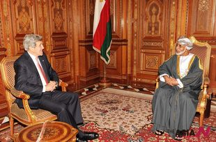 US Secretary of State Kerry meets Omani Sultan to discuss Syria plan