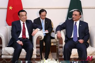 Chinese Premier Li meets Pakistani President to strengthen alliance