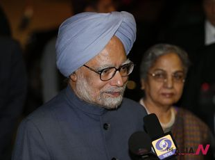 Indian PM Manmohan Singh arrives in Tokyo for four-day official visit