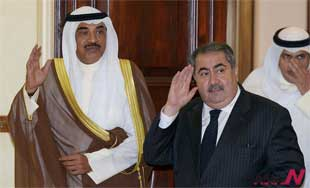 Kuwaiti and Iraqi FM sign MOUs on border marking, housing project
