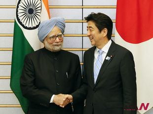 Japan and India vow to enhance strategic, global partnership
