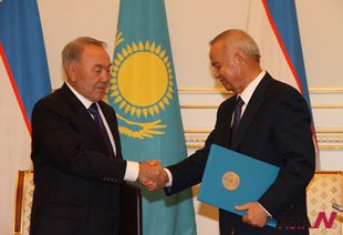 Uzbekistan and Kazakhstan establish bilateral ties