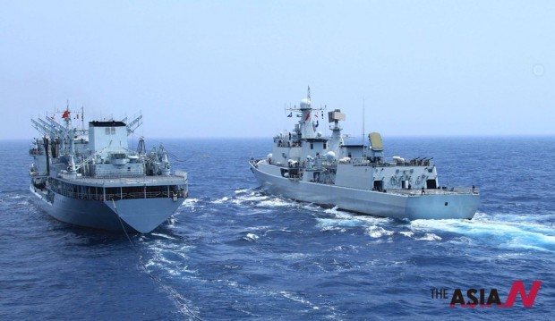 CHINA-FLEET-RUSSIA-NAVAL DRILLS