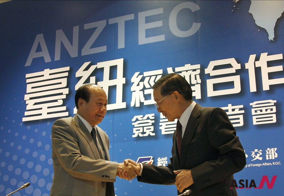 New Zealand Signs Free Trade Agreement With Taiwan In Low Key