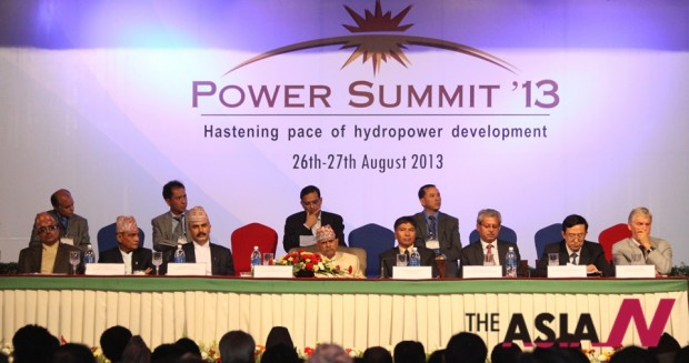 As the hydropower sector of Nepal is seen to be the provide the much needed boost for the Nepalese economy, various efforts such as the Power Summit are hosted by the Nepalese government. (Photo : Xinhua)