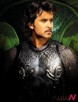 Actor Hrithik Roshan, who revived the character of Sultan Akbar after 400 years in his film Jodhaa Akbar.