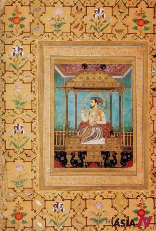Shah Jahan on The Peacock Throne of Moguls