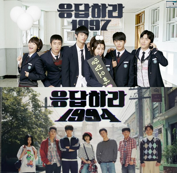 "The previous two installments in ""Reply"" dramas, 1997 and 1994."